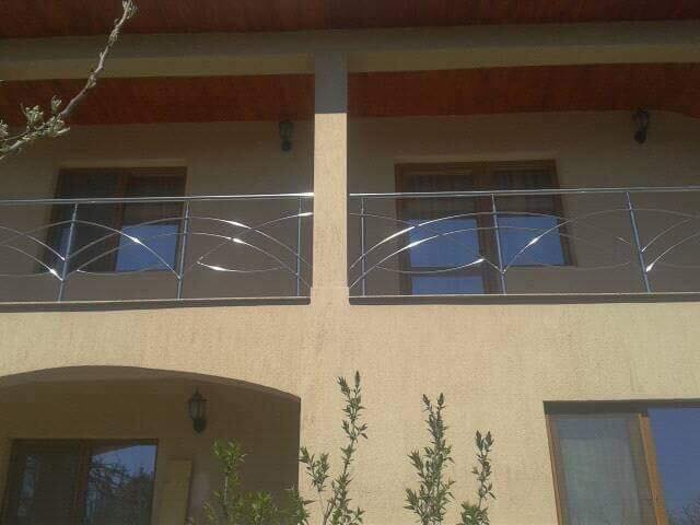 balustrada din inox pret balcon balustrade de inox. Black Bedroom Furniture Sets. Home Design Ideas