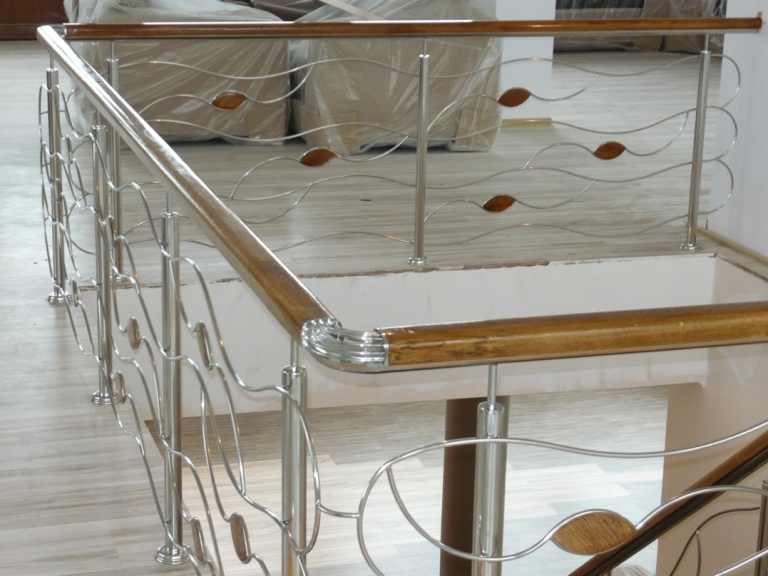 balustrade de inox