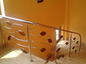 balustrade de inox model frunzulite
